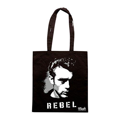 Borsa James Deen Rebel - Nera - Famosi by Mush Dress Your Style
