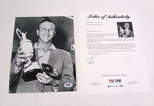 Arnold Palmer Golf Signed Autograph 8x10 Photo PSA/DNA COA #1 - Signed Palmer Arnold Photo