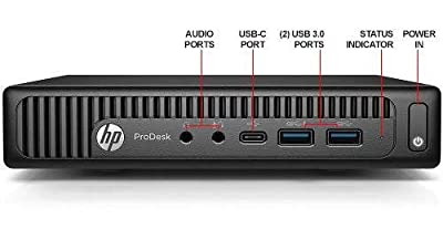 Newest HP 600 G2 Micro Computer Mini Tower PC (Intel Quad Core i7-6700T, 16GB DDR4 Ram, 256GB Solid State SSD, WIFI, VGA, USB 3.0) Win 10 Pro (Certified Refurbished)