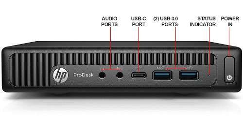 Newest HP 600 G2 Micro Computer Mini Tower PC (Intel Quad Core i5-6500T, 16GB DDR4 Ram, 256GB Solid State SSD, WiFi, VGA, USB 3.0) Win 10 Pro (Renewed)