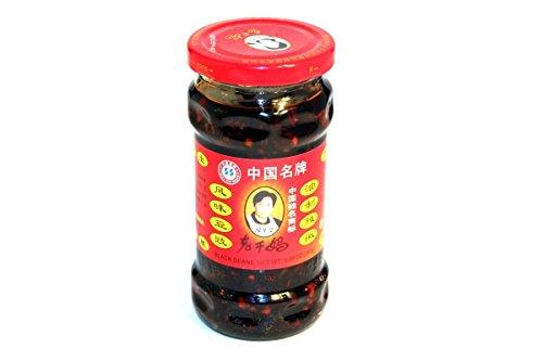 Black Bean Sauce (Black Bean in Chili Oil Sauce) - 9.88oz (Pack of 3) ()