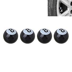 4 Stück PKW Ventil / AV - Autoventil / Schrader / Kunststoff Ventilkappen...