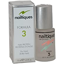 Nail Protein Formula, No. 3 Women Manicure by Nailtiques, 0.5 Ounce