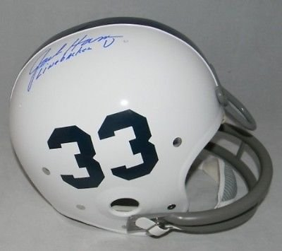 Rk Throwback Helmet (Jack Ham Autographed Signed Penn State Nittany Lions Throwback Rk Helmet - As Is)