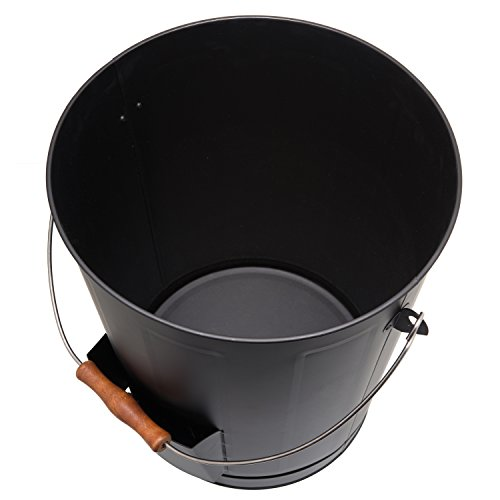 California Home Goods Ash Bucket for Fireplace with Shovel