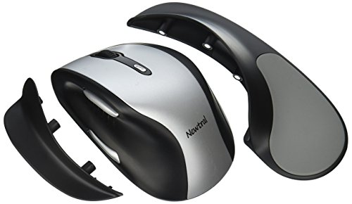 Newtral 2 KOV-N200SWL Large Mouse Wireless -- Silver/Black