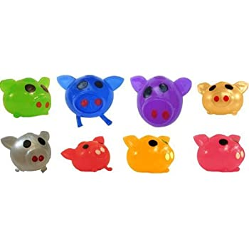 Squishy Splat Ball : Amazon.com: Splat Ball Novelty Squishy Toy Assorted Colors Pig-Pack of 3: Toys & Games
