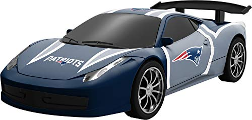 Officially Licensed NFL Remote Controlled Touch Down Racer New England Patriots]()
