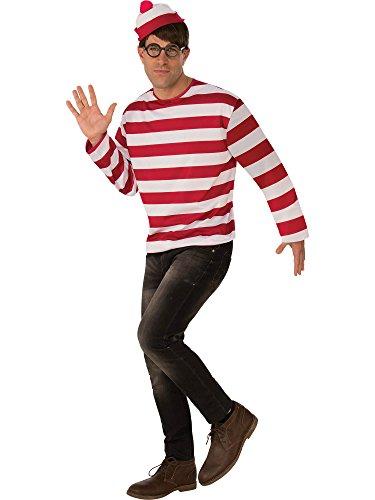 Rubie's Costume Co Unisex-Adults Where's Waldo Costume Kit ()