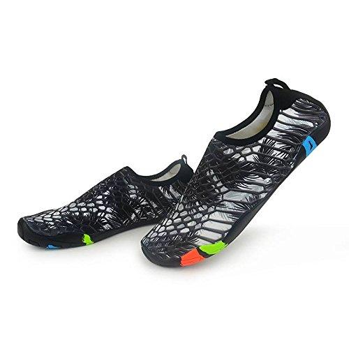 Secos de Hombres Calcetines COMVIP Aqua Zapatos la de Blanco Barefoot Gris Playa Piel Quick la Negro del qOdEdw7Wn