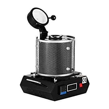 Image of Casting Machines 1KG Gold Furnace 2102 F Fahrenheit Digital Furnace Heating Capability 2100W Precious Metal Casting Refined Gold and Silver