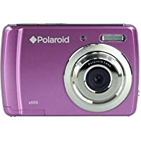 Polaroid CAA-500VC 5MP CMOS Digital Camera with 1.8-Inch LCD Display (Violet)