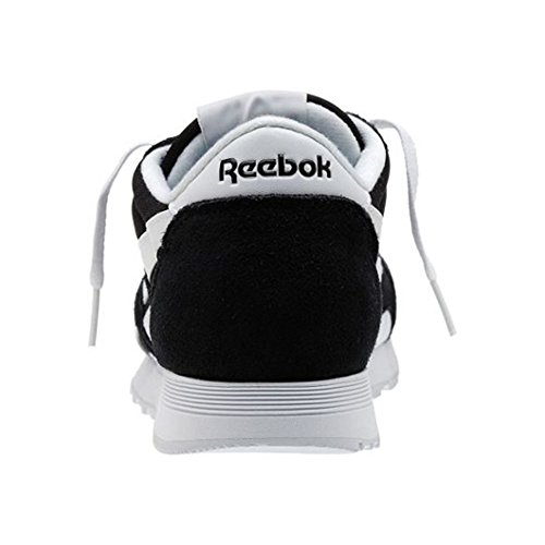 Uomo Nero Sneakers Classic Reebok Nylon da q1IgyHw