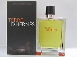 Terre D'Hermes by Hermes For Men 6.7 oz Pure Perfume Spray Sealed