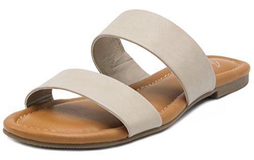 Mari A Women's Marlee Flat Two Strap Sandal 2 Band, used for sale  Delivered anywhere in USA