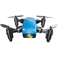 Hanbaili S9 Mini Foldable Pocket Drone With Camera Live Video,Altitude Hold Headless Mode One Key Return Fun Toy Gifts
