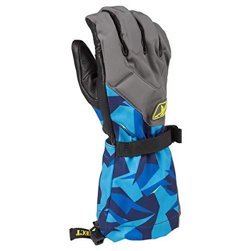 KLIM Togwotee Glove XL Camo - Blue