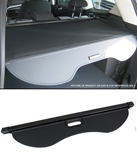 Cuztom Tuning Tailgate Trunk Retractable Cargo Cover Luggage Shade Black for 2013-2018 Ford Escape