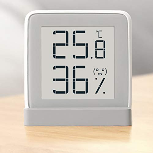 Baosity Mini LCD Screen Digital Thermometer Humidity Sensor Meter Silver by Baosity (Image #2)