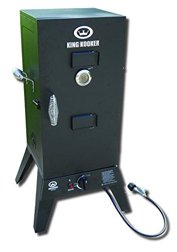 King Kooker 4010060 2113-Low Pressure Smoker with 30