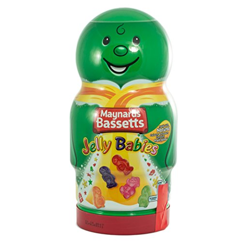 Maynards Bassetts Jelly Babies Fruit Flavoured Candy - Green Design - 570g Shipped from the UK ()