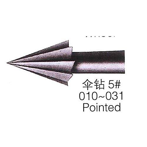 Cone Burs Steel Burs Series 026 High Speed Steel Burs 6Pcs /lot for One Size