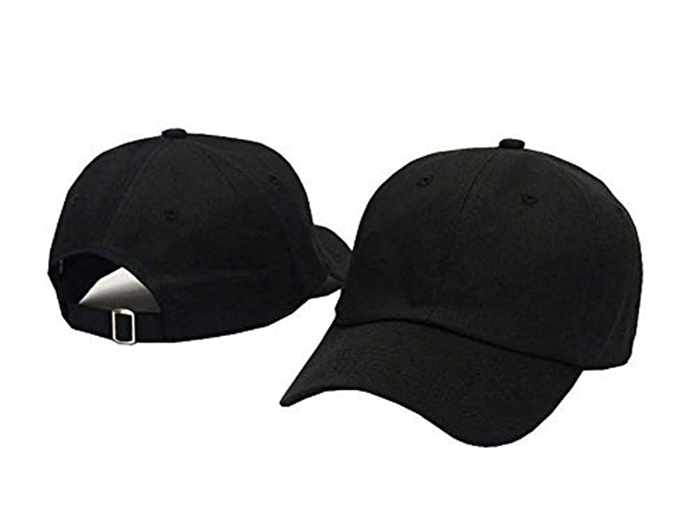 bb275ebdd2074 OMAZRA Classical Dad Hats Low Profile Adjustable Strapback Blank 100%  Cotton Dad Hats Baseball Caps for Man and Women at Amazon Men s Clothing  store