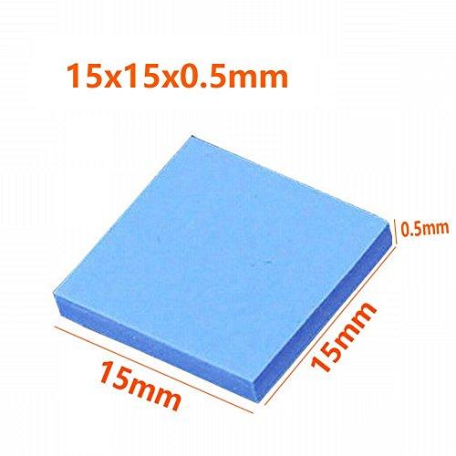 Wathai 36pcs 15x15x0.5mmThermal Conductive Silicone Pad by Wathai (Image #5)