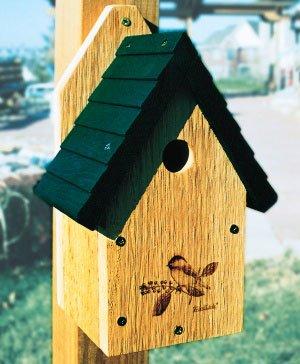 Woodlink Wren / Chickadee Bird House - Garden Series