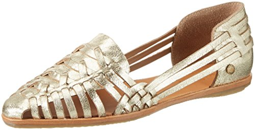 Pepe Jeans London Melrose Metal, Zapatillas para Mujer Dorado (Gold)