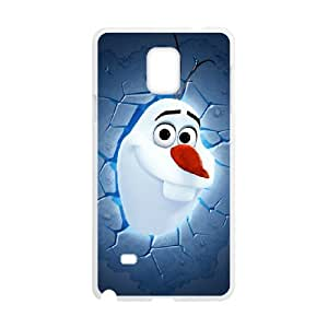 Olaf for Samsung Galaxy Note 4 Cell Phone Case & Custom Phone Case Cover R88A650393