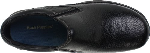 Hush Puppies Mens Lunar II Slip-On,Black,14 W US