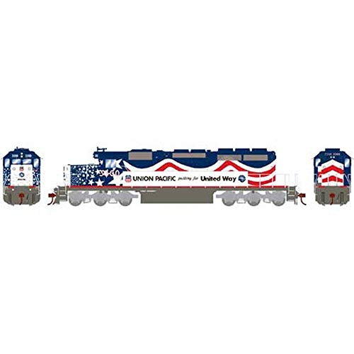 Athearn 71629 HO RTR SD40-2/DCC/SND, UP/United Way #3300
