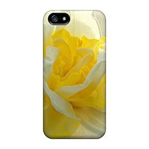 New Premium Flip Case Cover Daffodil Lady Bug Skin Case For Iphone 5/5s