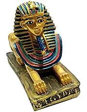 تمثال فرعوني أبو الهول 12 سم - ذهبي