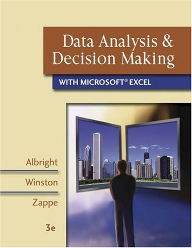 Data Analysis and Decision Making with Microsoft Excel (with CD-ROM, InfoTrac, and Decision Tools and Statistic Tools Su