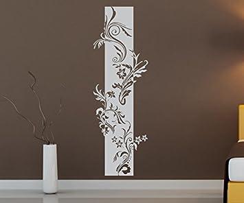 Dekoration Möbel Wohnen Wandtattoo Banner Blumen Ranke