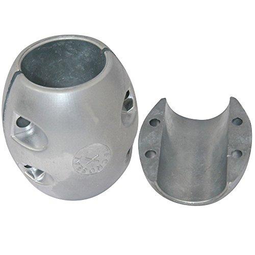 Tecnoseal X10AL Shaft Anode - Aluminum - 2-1/4