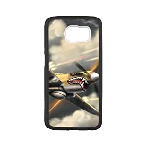 Samsung Galaxy S6 Case,Airplanes Fight Tpu Back Cover Case,Ultra Slim Cover Case,Scratchproof Dustproof Anti-Slip
