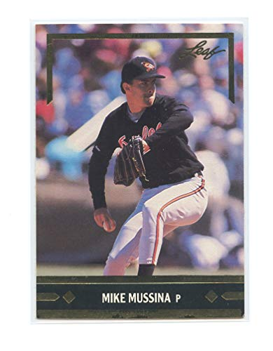 1991 Leaf Gold Rookies Bonus #BC12 Mike Mussina Baltimore Orioles Rookie Card- Near Mint Condition Ships in New Holder