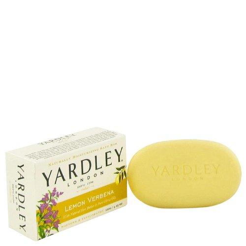 Verbena Lemon Moisturizing (Yardley London Soaps by Yardley London Lemon Verbena Naturally Moisturizing Bath Bar 4.25 oz)