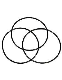 (Paquete de 3) O-Rings para Whirlpool whkf-dwhbb y American fontanero w10-pr por Capitán Junta Tórica