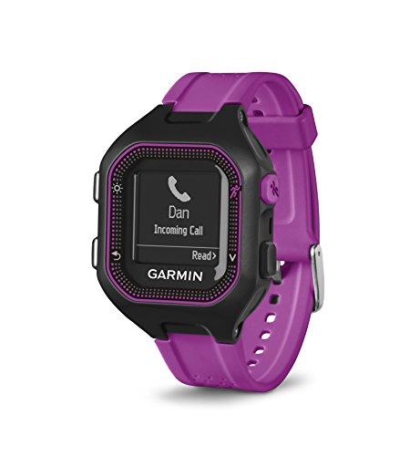 Garmin Forerunner 25, Small - Black and Purple