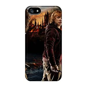 Hot Covers Cases For Iphone/ 5/5s Cases Covers Skin - Harry Potter Deathly Hallows Part Ii