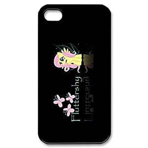 Iphone 4,4S 2D Custom Phone Back Case with My Little Pony Image