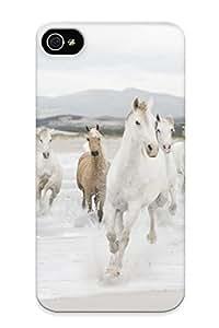 12717305281 Beach Horse Fashion Tpu Case Cover For Iphone 4/4s, Series by kobestar