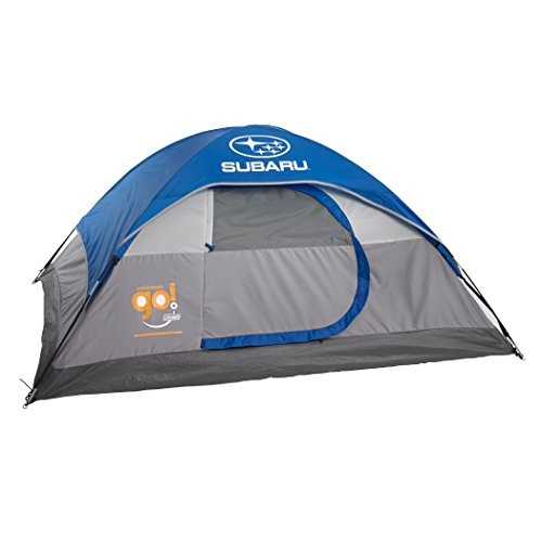 Subaru Logo Coleman Go Go 2 Person Dome Backpacking Tent New NWT Blue 5×7 New