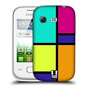 Head Case Designs Retro Hued Tiles Protective Snap-on Hard Back Case Cover for Samsung Galaxy Pocket S5300