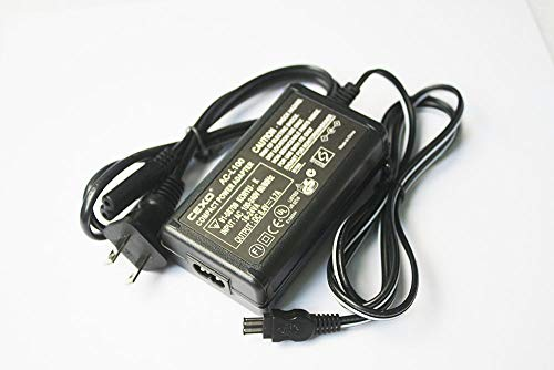 CEXO AC-L15 AC-L100 AC Power Adapter Charger for Sony CCD-TRV16, CCD-TRV25, CCD-TRV36, CCD-TRV37, CCD-TRV68, CCD-TRV128, CCD-TRV138, MVC-FD, DSC-S30, DSC-F707, DSC-F717, DSC-F828