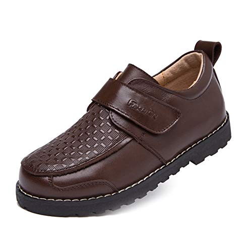 Image of F-OXMY Boys Breathable School Oxfords Casual Shoes Slip-On Classic Dress Shoes Toddler/Little Kid/Big Kid